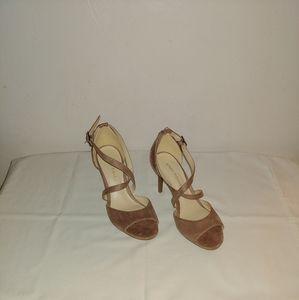 Marc Fisher Open Toe Heels Size-5.5